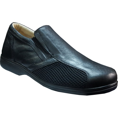 Genuine Leather Diabetic Shoes for Neuropathy ODY53