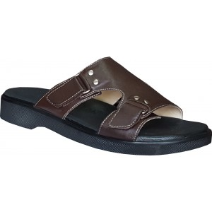 Men's Leather Orthopedic House Slippers ORT-11
