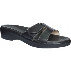 Women's Leather Orthopedic House Slippers ORT-01