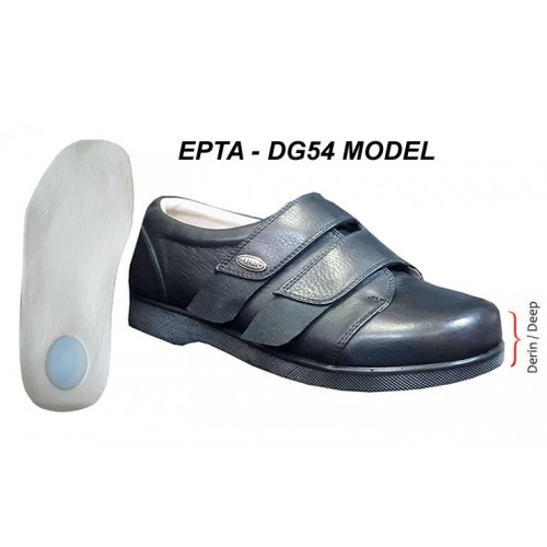 Extra Deep and Wide Shoes for Plantar Fasciitis Men Swollen Feet EPTADG54