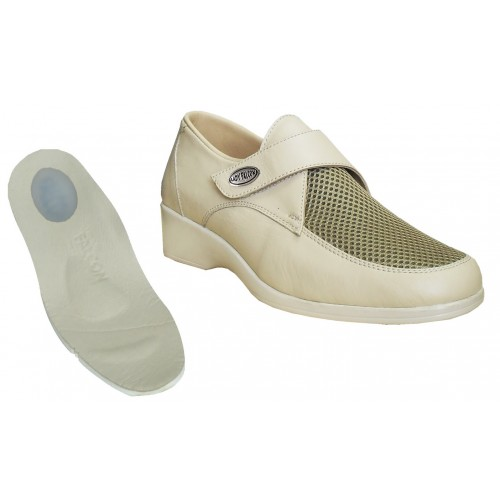 Leather Shoes for Plantar Fasciitis Women EPTYA01