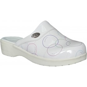 White Nursing Clogs Sweet07